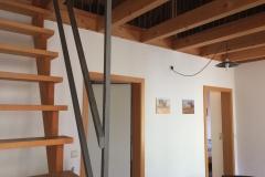 Treppe zur Gallerie
