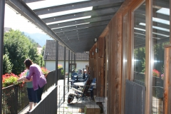 Balkon vor Wohnungen